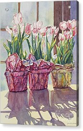 Spring Shadows Acrylic Print by Jan Landini