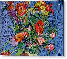 Spring Symphony Acrylic Print by Frances Treanor