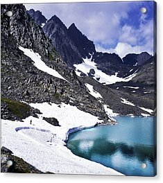 Spring Time In The Mountains Acrylic Print by Vladimir Kholostykh