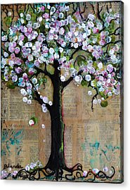 Spring Tree  Acrylic Print by Blenda Studio