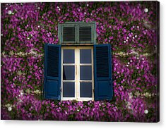Spring Window Acrylic Print by Radoslav Nedelchev
