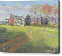 Springtime At Carnton Acrylic Print by Tommy Thompson
