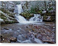 Spruce Flats Falls II Acrylic Print by Douglas Stucky