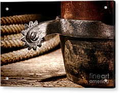 Spur Acrylic Print by Olivier Le Queinec