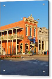 Square Books Oxford Mississippi Acrylic Print by Joshua House