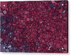 Square Universe Acrylic Print by Steve K