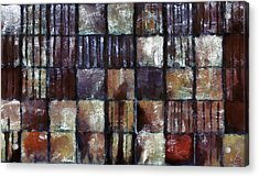 Squared Up 1 Acrylic Print by Angelina Vick
