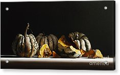 Squash Sweet Dumpling Acrylic Print by Larry Preston