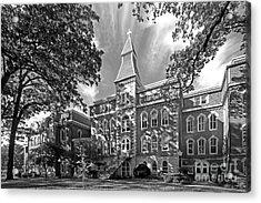 St. Ambrose University Ambrose Hall Acrylic Print by University Icons