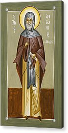 St Anthony Acrylic Print by Julia Bridget Hayes