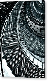 St Augustine Lighthouse Staircase Acrylic Print by Christine Till