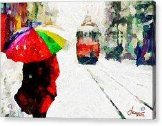 St. Clair Street Tnm Acrylic Print by Vincent DiNovici