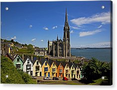 St Colmans Cathedral, Cobh, County Acrylic Print by Panoramic Images