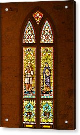St Francis Of Sales And St Monica Acrylic Print by Christine Till