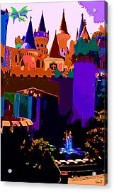 St George And The Dragon Acrylic Print by CHAZ Daugherty