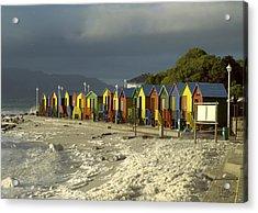 St James Beach Acrylic Print by Tom Hudson