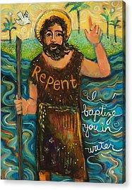 St. John The Baptist Acrylic Print by Jen Norton