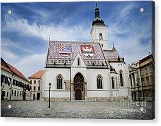 St. Mark's Church Acrylic Print by Jelena Jovanovic