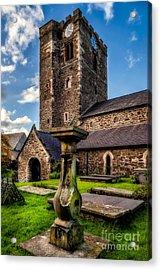 St Marys Church Acrylic Print by Adrian Evans