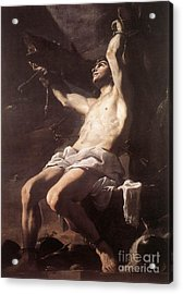 St Sebastian Acrylic Print by Celestial Images