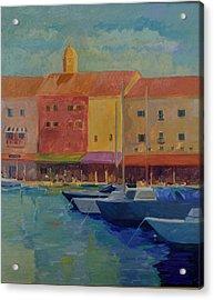 St. Tropez Acrylic Print by Rhonda Brooks