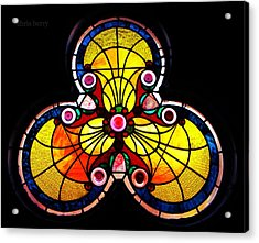 Stained Glass  Acrylic Print by Chris Berry