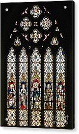 Stained-glass Window 1 Acrylic Print by Susie Peek