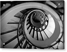 Staircase Acrylic Print by Sebastian Musial