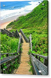 Staircase To Gem Acrylic Print by Lourry Legarde