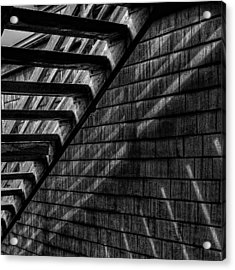 Stairs Acrylic Print by David Patterson