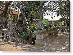 Stairs In Summer Shade Acrylic Print by Terry Reynoldson