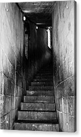 Stairway  Acrylic Print by Steven  Taylor
