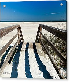 Stairway To Happiness And Possibilities Acrylic Print by Michelle Wiarda