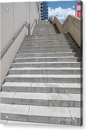 Stairway To Heaven Acrylic Print by James Dolan