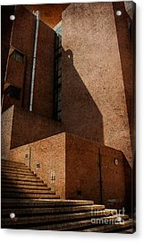 Stairway To Nowhere Acrylic Print by Lois Bryan