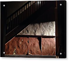 Stairwell Acrylic Print by H James Hoff
