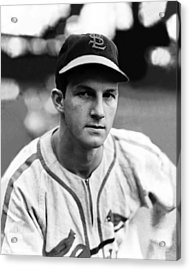 Stan Musial Acrylic Print by Retro Images Archive