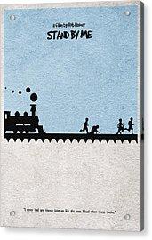 Stand By Me Acrylic Print by Ayse Deniz