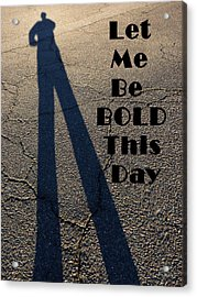 Stand Tall Acrylic Print by Lin Haring