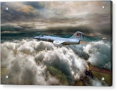 Star Fighting Acrylic Print by Jason Green
