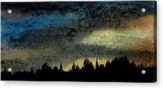 Star Filled Sky Acrylic Print by R Kyllo