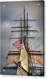 Star Of India Stars And Stripes Acrylic Print by Peter Tellone