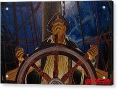 Star Pirates Acrylic Print by John Paul Blanchette