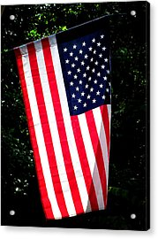 Star Spangled Banner Acrylic Print by Greg Simmons