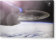 Star Trek - A New Civilization Acrylic Print by Jason Politte