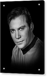 Star Trek Kirk Acrylic Print by Daniel Hagerman