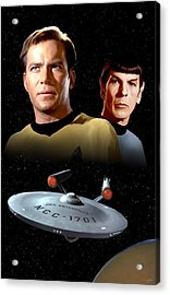 Star Trek - The Original Series Acrylic Print by Paul Tagliamonte