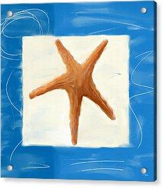 Starfish Galore Acrylic Print by Lourry Legarde