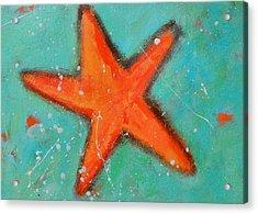Starfish Acrylic Print by Patricia Awapara