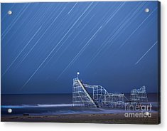 Starjet Under The Stars Acrylic Print by Michael Ver Sprill